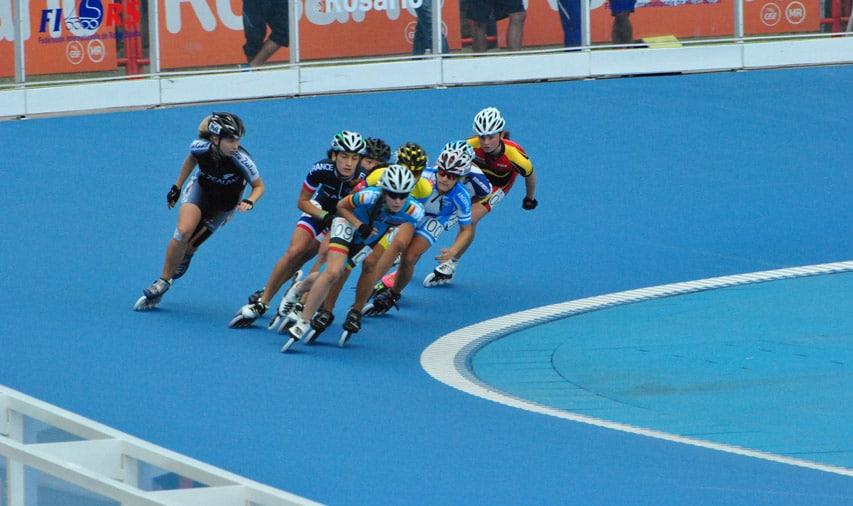 Sandrine Tas (Belgique) emmène le 1000 m