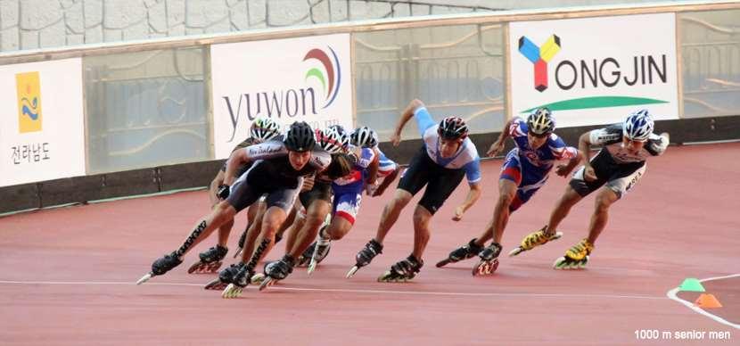 1000 m senior men - championnat du monde 2011