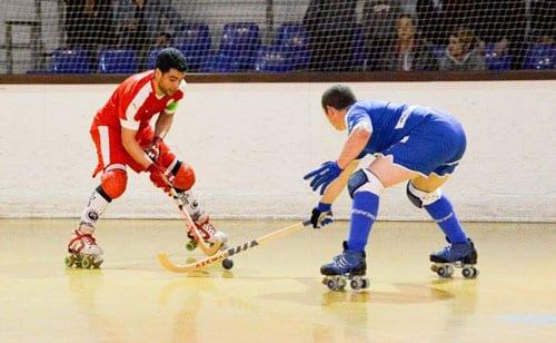 17ème journée du championnat de France N1 Elite Rink Hockey : Lyon - Coutras
