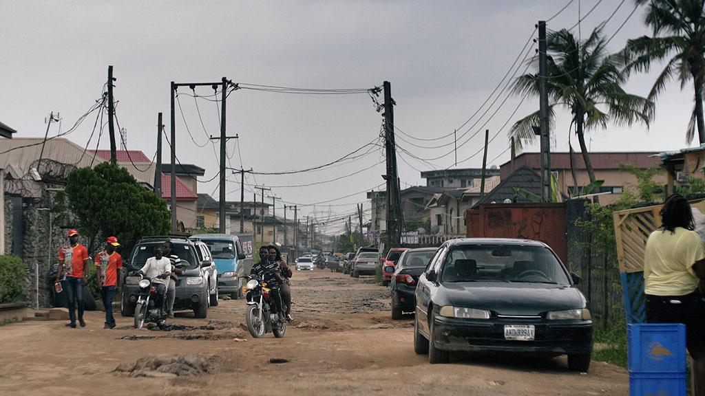 Les rues de Lagos au Nigéria