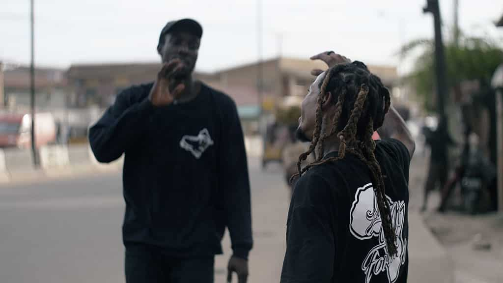 Daniel Ogbogu et Brian Freeman  - photo : © UntitledfilmWorks