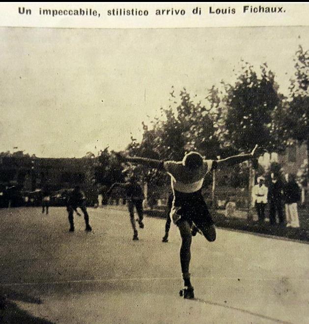 Louis Fichaux vainqueur en Italie