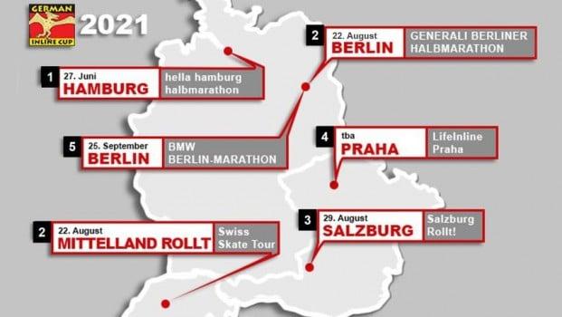 Calendrier de la German Inline Cup 2021