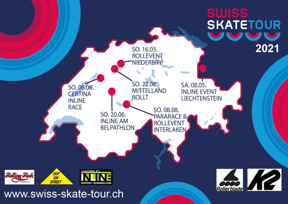 Calendrier du Swiss Skate Tour 2021