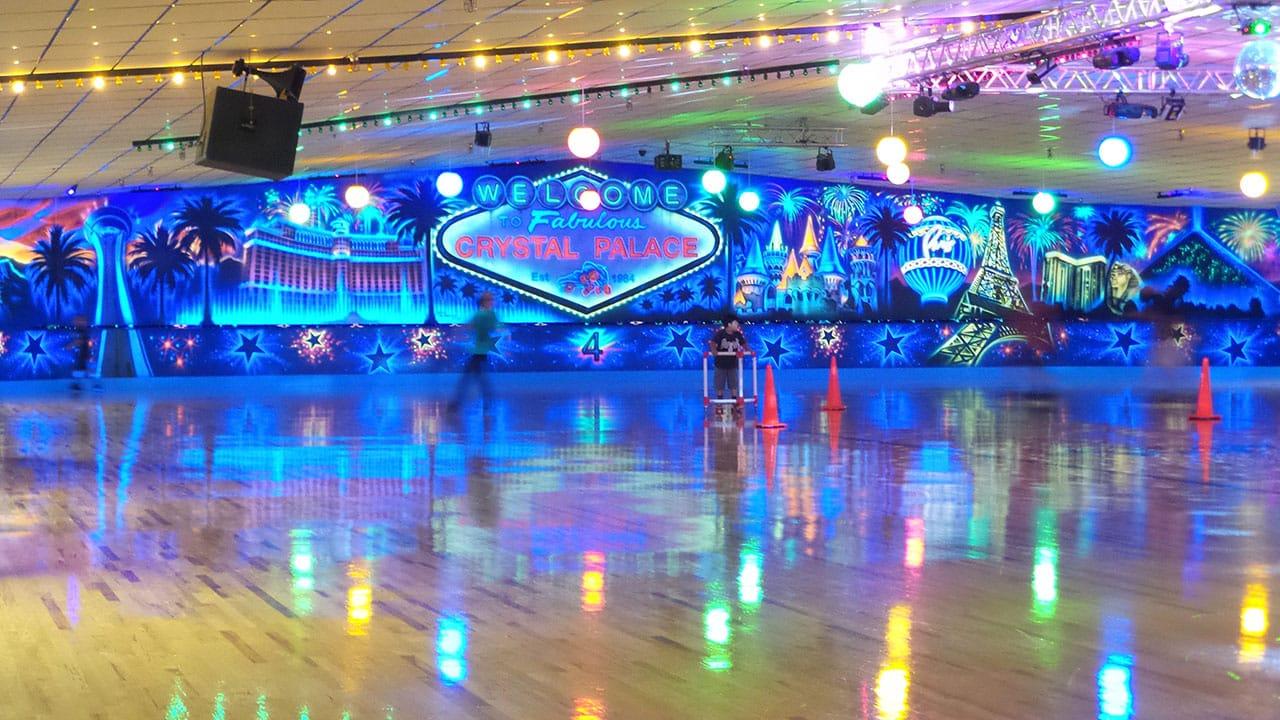 Crystal Palace Skating Rink de Las Vegas