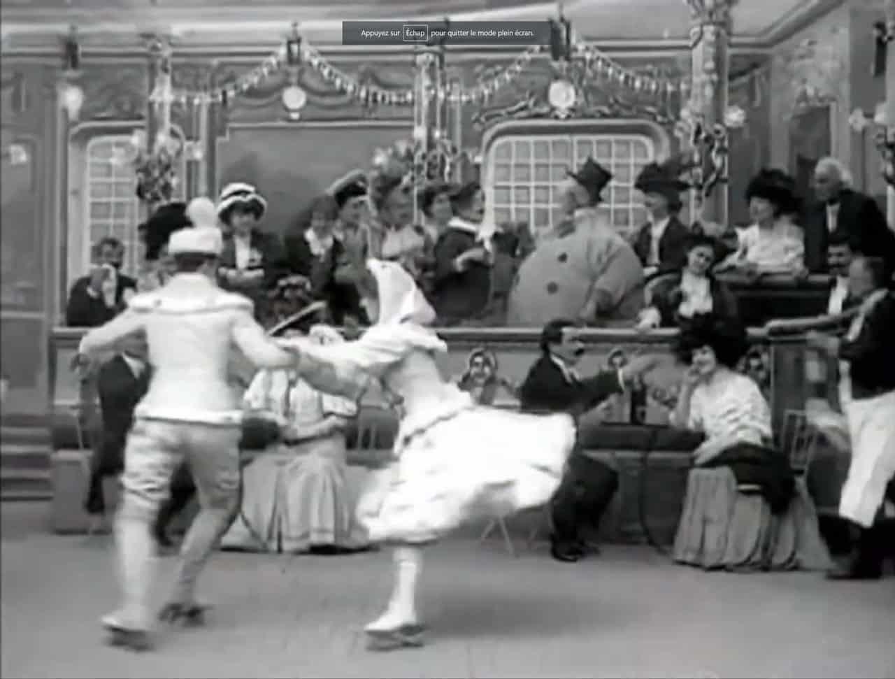 Les infortunes des patineurs - Georges Méliès (1908)