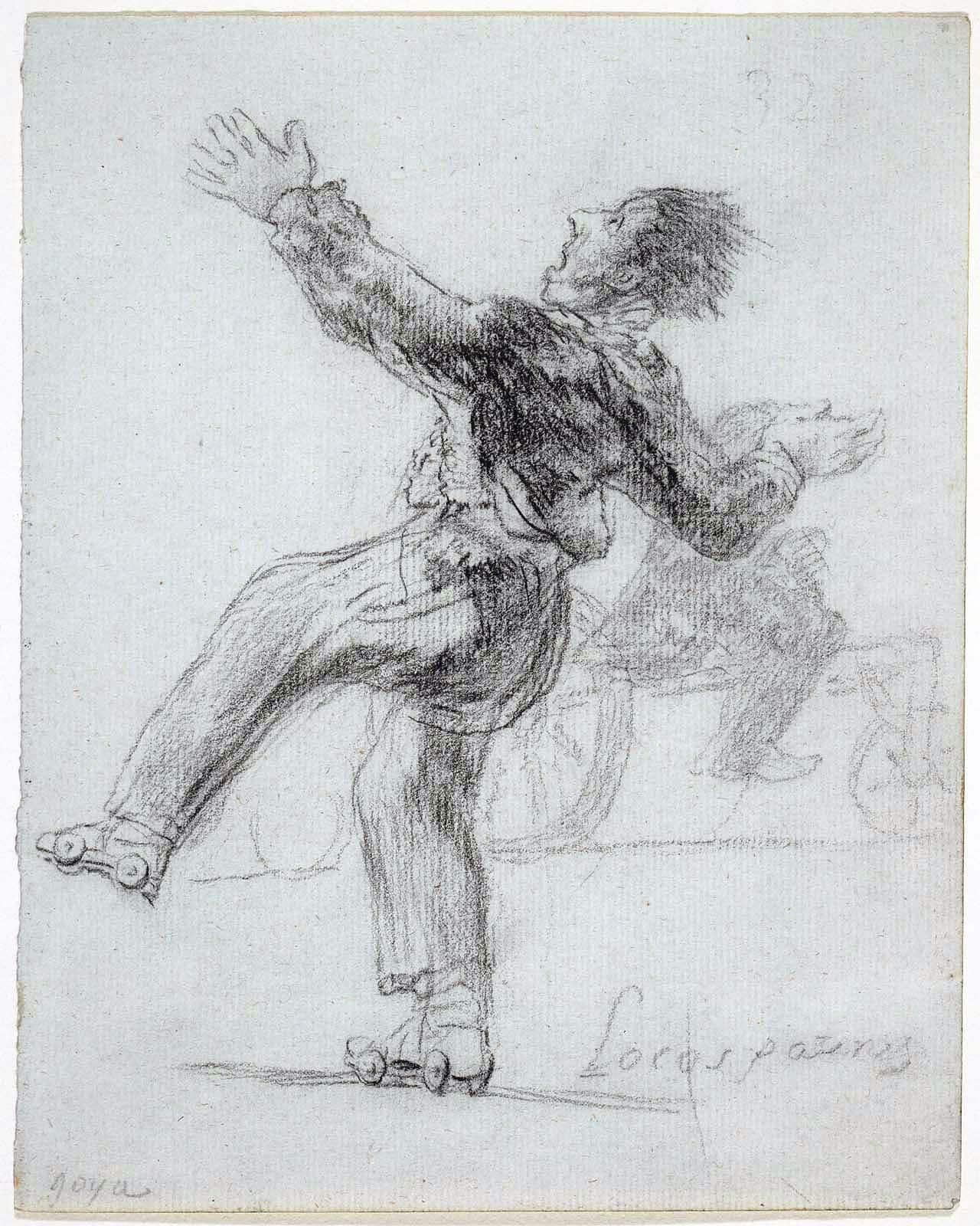 Locos Patines de Francisco de Goya