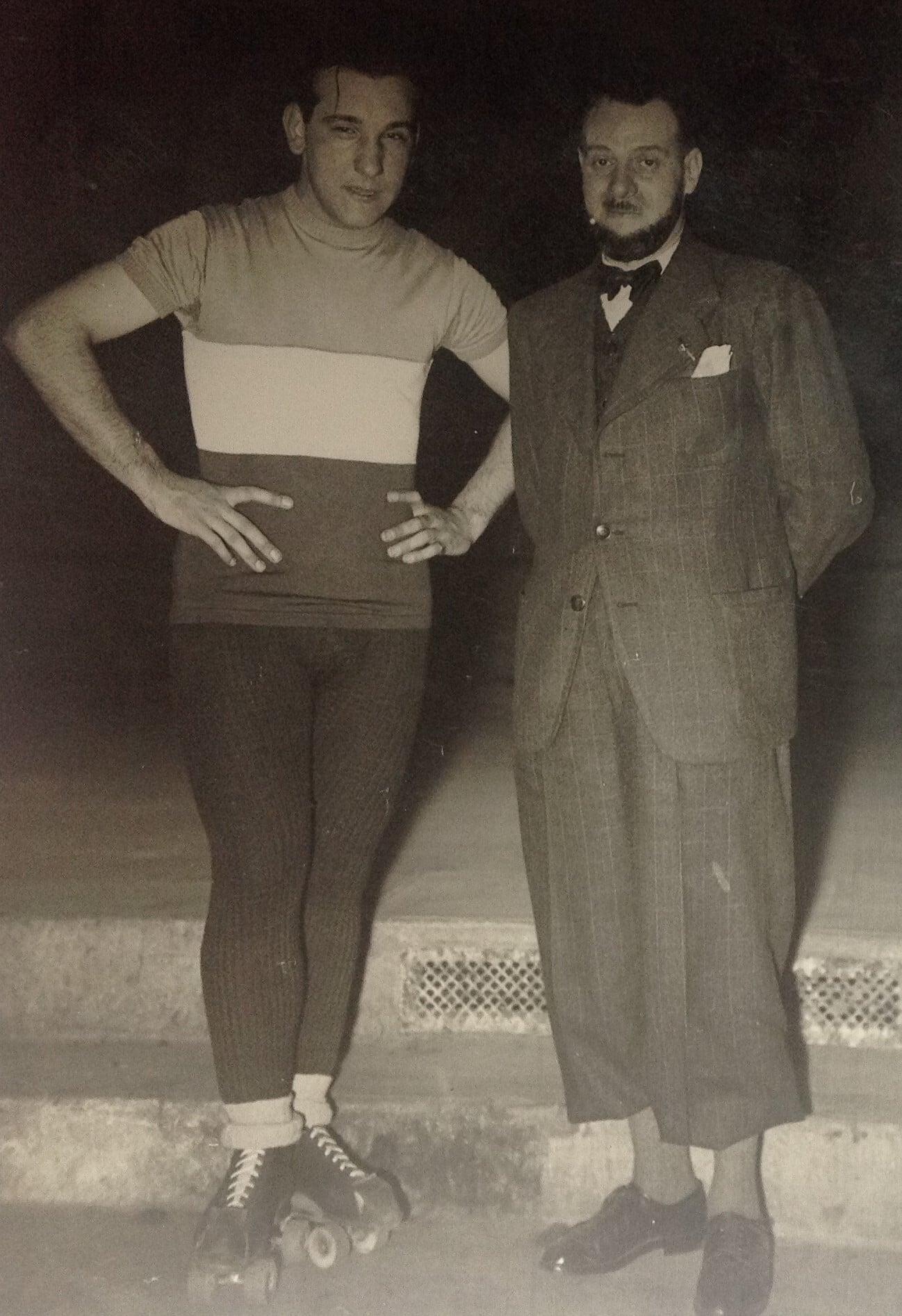 Louis Fichaux et René Moyat