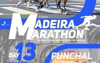 Affiche marathon roller Madeire 2021