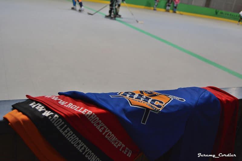 Maillot de roller hockey avec Séance d'entraînement de roller hockey avec Jérémy Defossez
