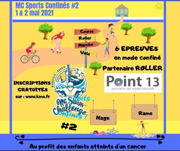 MC Sports confinés 2021 @ Marseille