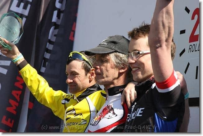 Premier podium de Claude Viltard