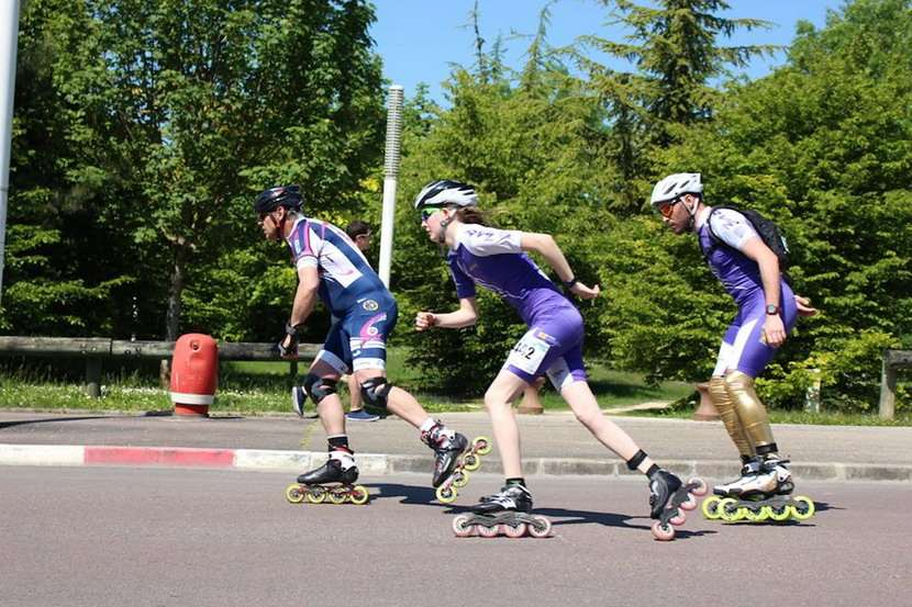 6 Heures de l'UTT Troyes roller 2014