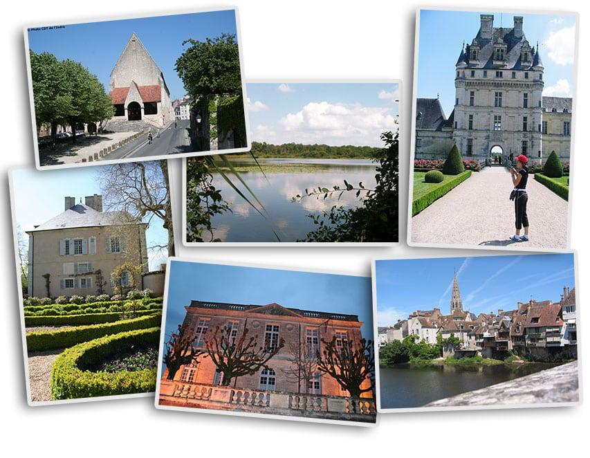 Patrimoine autour de Châteauroux