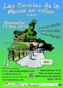 Rando Verte Roller 2015 : 8ème édition des Boucles de la Meuse (08) @    Charleville-Mézières     