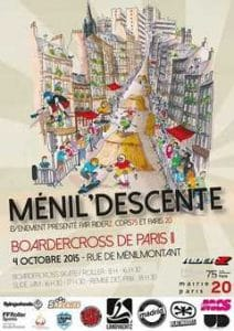 MénilDescente20 édition 2015 à Paris (75) @    Paris     