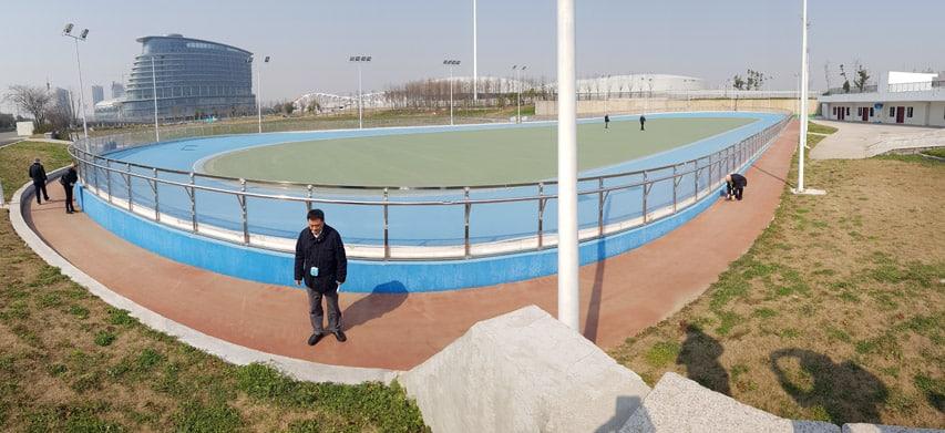 Piste de Roller Course 2017 aux World Roller Games 2017 à Nankin (Chine)