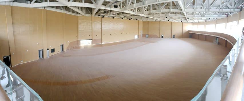 Salle secondaire du roller hockey