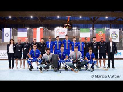 U17 rink hockey finale france italiepetit