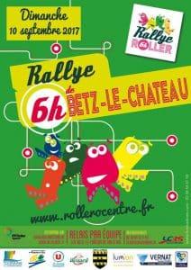 Challenge des 6 Heures Roller 2017 à Betz-le-Château (37) @    Betz-le-Château     