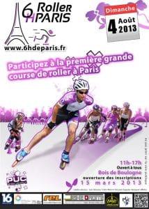 6 Heures Roller de paris 2013 @    Boulogne     