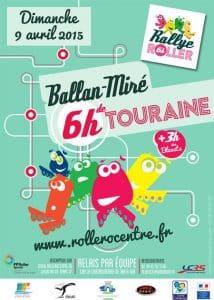 Challenge des 6 heures roller de Touraine 2017 à Ballan-Miré (37) @    Balan     
