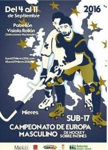 Championnat d'Europe U17 de rink hockey 2016 à Mieres (Espagne) @  | Mieres (Garrotxa) |  |