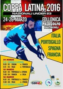 Coupe latine de rink hockey 2016 à Follonica (Italie) @  | Rome |  |