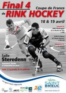 Final Four de la Coupe de France de rink hockey 2015 à Saint-Brieuc (22) @    Saint-Brieuc     