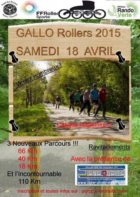 Affiche Gallo Roller 2015