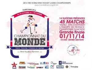 Championnat du monde de rink-hockey senior dames 2014 à Tourcoing (France) @  | Tourcoing |  |