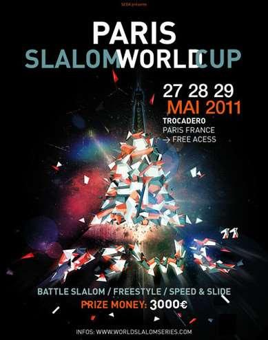 Affiche Paris Slalom World Cup 2011