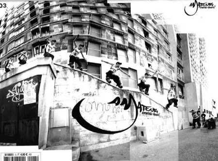 Couverture Amateur Skating Magazin n°3