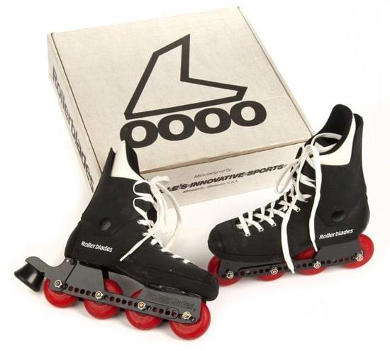 Anciens patins Rollerblade