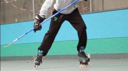 apprendre pivot roller hockey small