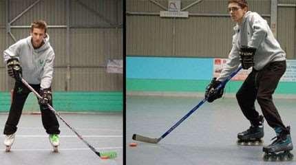 apprentissage position base roller hockey small