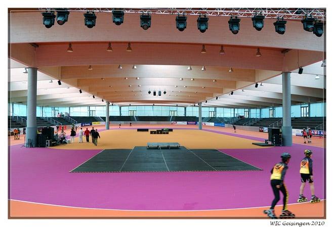 La plus fameuse piste couverte d'Allemagne - l'Arena Geisingen