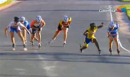Sprint des seniors dames en relais route
