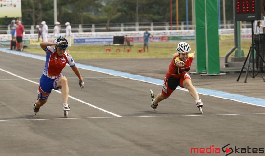 100 m dames