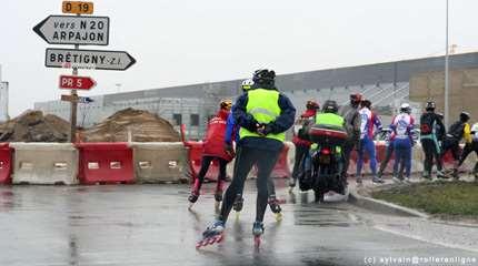 astuces pour se proteger du froid en roller