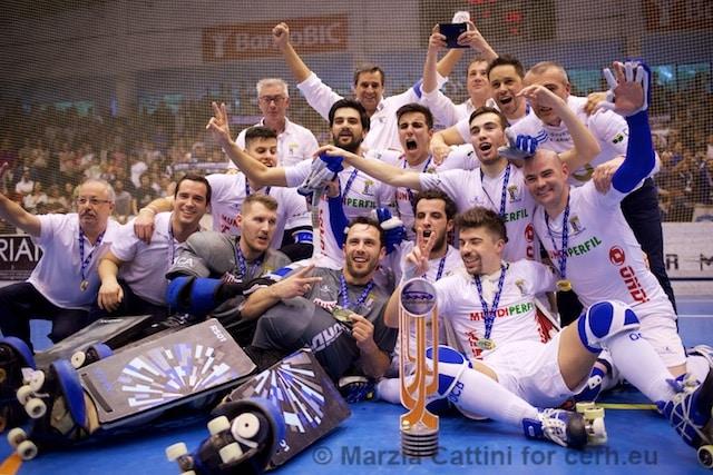 OC Barcelos remporte la Coupe CERS pour la seconde fois de son histoire