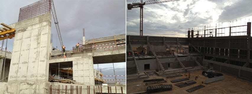 L'Angola construit spécialement des infrastructures pour le mondial rink