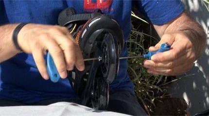 bien serrer axes roller small