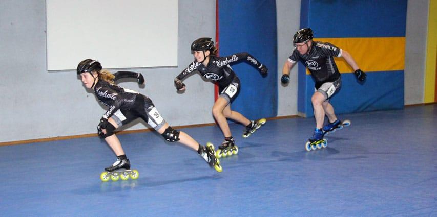 Roller course Indoor Epernay 2017