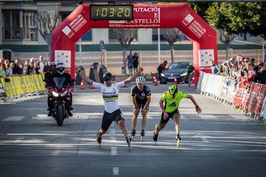 Arrivée du marathon hommes à Oropesa del Mar