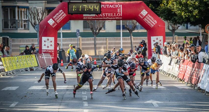Arrivée du marathon seniors femmes