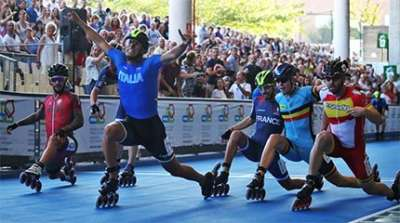 bilan medailles championnats europe roller course 2019 small