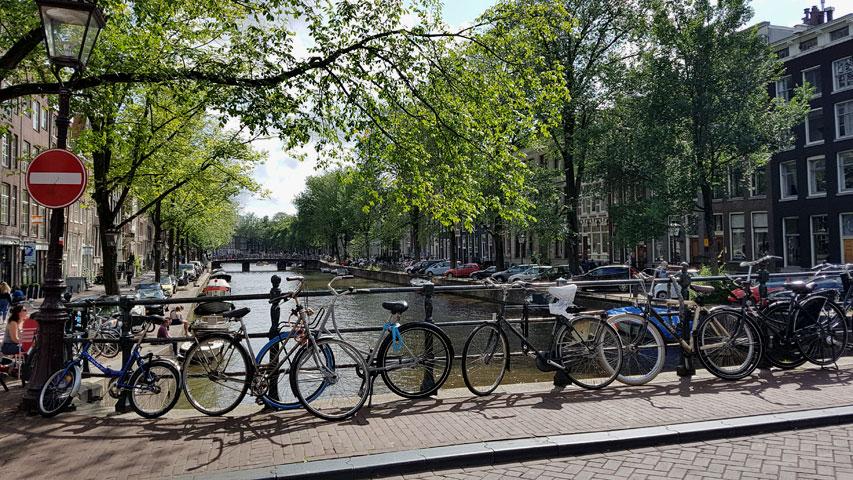 Les vélos : omniprésents dans le paysage d'Amsterdam