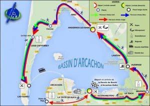 Rando Verte Roller 2015 : La boucle du bassin d'Arcachon roller (33) @    Gujan-Mestras     