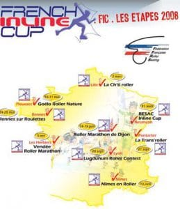 French inline Cup 2008 aux Herbiers - Vendée Roller marathon (85) @    Les-Herbiers     
